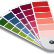 Pantone color guide - Stock Vector
