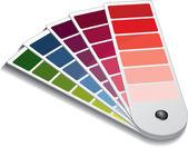 Guía de color pantone — Vector de stock