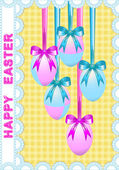 Easter decor — Stock Vector