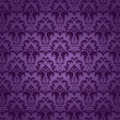 Purple seamless ornament - Stock Vector