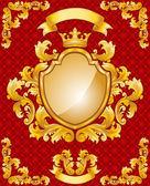 королевская эмблема — Cтоковый вектор
