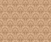 Bruine patroon — Stockvector