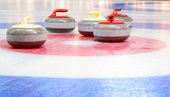 Curling stones — Stockfoto