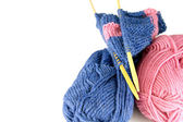 Knitting — Stock Photo