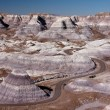 Stock Photo: Painted desert