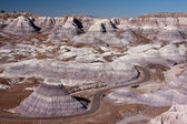 Painted desert — Stock Photo