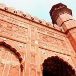 Wall Art of Badshahi Mosque Lahore. — Stock Photo