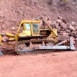 Stock Photo: Road Construction Works Machinery