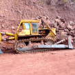 Road Construction Works Machinery — Stock Photo