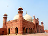 Badshahi Mosque Lahore — Stock Photo