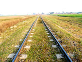 Railway Track Infinite — Stock Photo