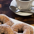 Stock Photo: Donuts and Coffee