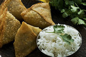 Samosa — Stock Photo