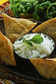 Indian Samosa's — Stock Photo