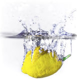 Lemon Splash — Stock Photo