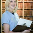 Royalty-Free Stock Photo: Beautiful blonde medical assistant