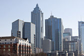 Downtown Atlanta skyline — 图库照片