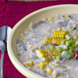Chicken Corn Chowder — Stock Photo