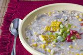 Chicken Corn Chowder — Stock Photo