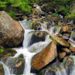 Stock Photo: Mountain torrent