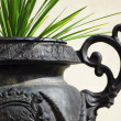 Royalty-Free Stock Photo: Bronze pot detail