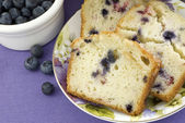 Mixed Berry Bread Closeup — Stock Photo