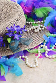 Easter Hat With Pearls — Stock Photo