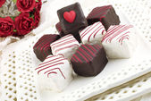 Valentine Petit Fours — Stock Photo