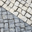 Black and white cobblestones — Stock Photo #5312428