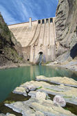 Dam Escales — Zdjęcie stockowe