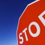Stop signal — Stock Photo
