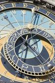 Astronomical clock — Стоковое фото