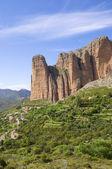 Riglos landscape — Stock Photo