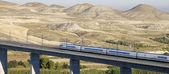 High-speed train — Stockfoto