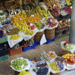 Tropical fruit market — Stock Photo