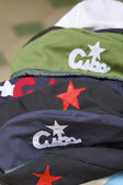 Hats of the Cuban revolution — Stock Photo