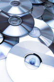 Dvd group — Stock Photo