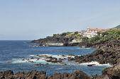 Azores coastline — Stock Photo