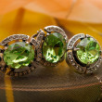 Green chrysolite — Stock Photo