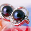 Black pearls — Stock Photo #5279331
