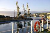 Seaports — Stock Photo