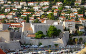 Fortifications and buildings. Dubrovnik — Stock Photo