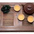 Green Tea Ceremony - Stock Photo