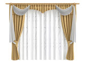 Curtains — Stock Photo