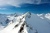 Alpler. daha fazla 3000 metre yükseklikte — Stok fotoğraf