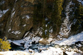 Alps river — Stock Photo