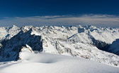 Snow alps — Stock Photo