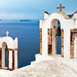 Santorini orthodoxy church — Stock Photo