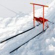 Finnish sleigh — Stock Photo