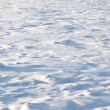 Stock Photo: Texture of hilly snowdrift